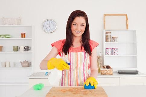 Použitie čistiacich prostriedkov v predajniach